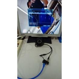 300米HD雙絞線BNC傳輸器【帶電源.一組兩顆】AHD/HDTVI/CVBS 高清視訊供電二合一複合線.防雷CAT網路