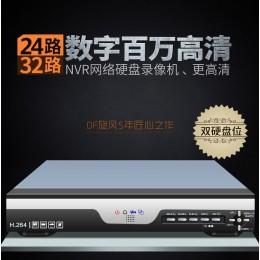 專業版NVR!24路1080P網路監視器主機【手機APP雲端監控】支援NETOP.ONVIF各種網路攝影機IPC