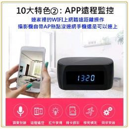 偽裝wifi夜視針孔電子鐘(HZ16)
