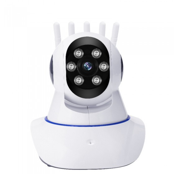 人形跟拍!360度6代無線攝影機【6燈體感追蹤版/1080P遙控鏡頭】Yoosee有看頭APP手機WIFI遠端監視器