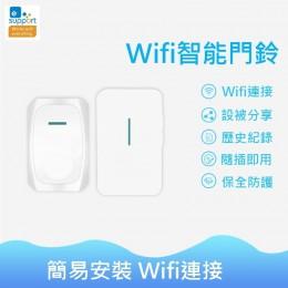 嵩諾Sonoff SA-026 APP手機無線警報門鈴 可搭配IOT攝影機 警報感應器