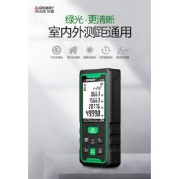【SNDWAY】戶外雷射測距儀 戶外電子尺雷射尺測量尺距離尺 另有BOSCH (鋰電語音版-綠光100米)