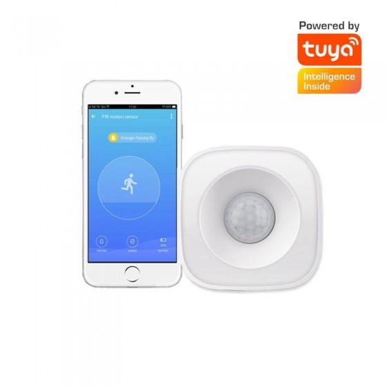 Tuya智能生活 無線wifi人體紅外探測報警器